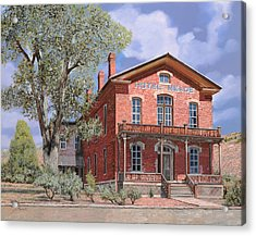Bannock-montana-hotel Meade Acrylic Print