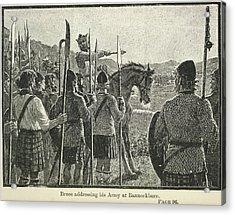 Bannockburn Acrylic Print by British Library
