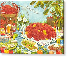 Banquet On The Bayou Acrylic Print