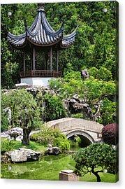 Bansi Garden Acrylic Print by John Swartz