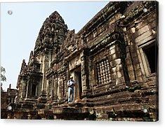 Banteay Samre Temple At Angkor, Siem Acrylic Print