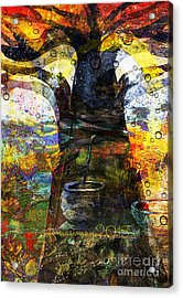 Baobab Tree  Acrylic Print by Fania Simon