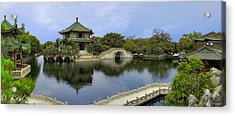 Baomo Garden Temple Acrylic Print