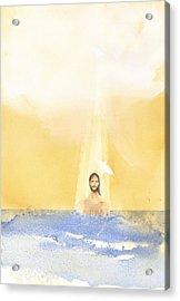 Baptism Acrylic Print by John Meng-Frecker