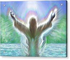 Baptism Of Yshuah Acrylic Print