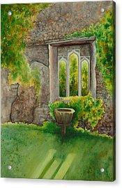 Baptistry At Lainston House  Winchester England Acrylic Print
