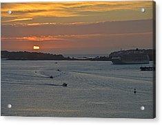 Bar Harbor Maine Sunrise Acrylic Print