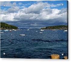 Acrylic Print featuring the photograph Bar Harbor Me by Gene Cyr