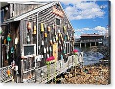 Bar Harbor Restaurant Acrylic Print