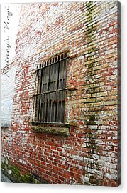 Bar None Acrylic Print by Lorraine Heath