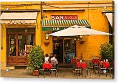 Bar San Giusto Acrylic Print