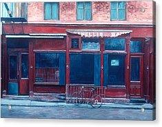 Bar Soho Acrylic Print