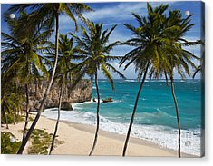 Acrylic Print featuring the photograph Barbados Beach by Brian Jannsen