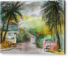 Barbados Acrylic Print by Frank Hunter