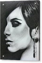 Barbara Streisand Acrylic Print