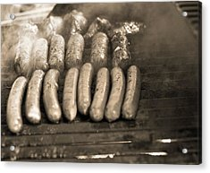 Barbecue Acrylic Print by Dan Sproul