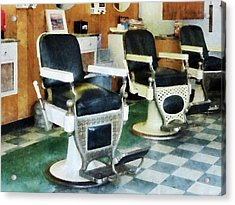 Barber - Corner Barber Shop Acrylic Print