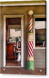 Barber - I Need A Hair Cut Acrylic Print by Mike Savad