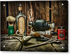 Barber - Scalp And Neck Massager Acrylic Print