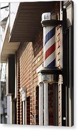 Barber Smithtown New York Acrylic Print