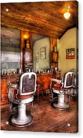 Barber - The Barber Shop II Acrylic Print