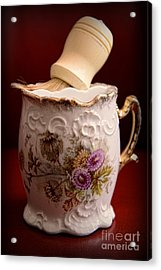 Barber - Victorian Shaving Mug 2 Acrylic Print by Paul Ward