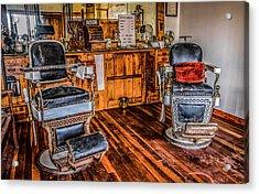 Barbershop Acrylic Print