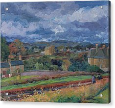 Barbon From The Railway Line Autumn Acrylic Print