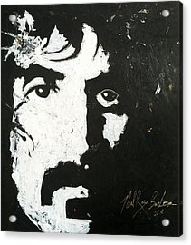 Barbosa Paints Zappa Acrylic Print