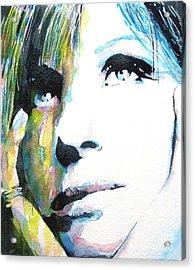 Barbra Acrylic Print by Paul Lovering