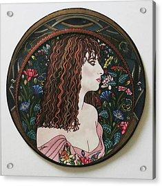 Barbra's Garden Acrylic Print