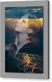 Barbra's Vision Acrylic Print