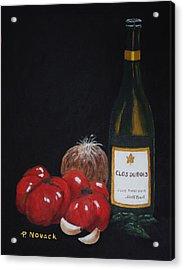 Barb's Italian Sauce Mix Acrylic Print by Patricia Novack