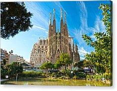 Barcelona - La Sagrada Familia Acrylic Print