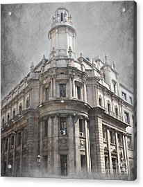 Barcelona Architecture Acrylic Print by Sophie Vigneault