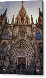 Barcelona Cathedral Acrylic Print