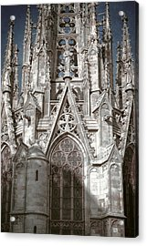 Barcelona Cathedral Spires Acrylic Print