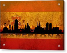 Barcelona City Acrylic Print