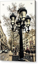 Barcelona - La Rambla Acrylic Print
