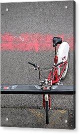 Barcelona Spain Bicycle Acrylic Print by John Jacquemain