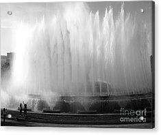 Barcelona Water Fountain Joy Acrylic Print