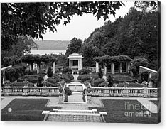 Bard College Blithewood Garden Acrylic Print by University Icons