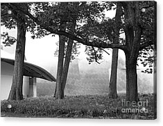 Bard College Fisher Center Acrylic Print by University Icons