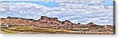 Bardenas Desert Panorama 1 Acrylic Print