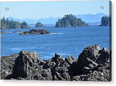 Barkley Sound And The Broken Island Group Ucluelet Bc Acrylic Print