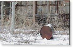 Barn #38 Acrylic Print by Todd Sherlock