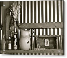 Barn Altar Acrylic Print by Kim Pippinger