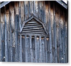 Barn And Batten Acrylic Print by Nickaleen Neff
