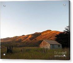 Barn At Garrapata State Park Acrylic Print