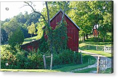 Barn At Piney River Acrylic Print